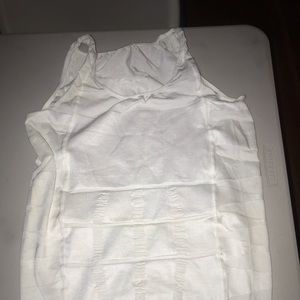Men's White Tank Body Shaper
